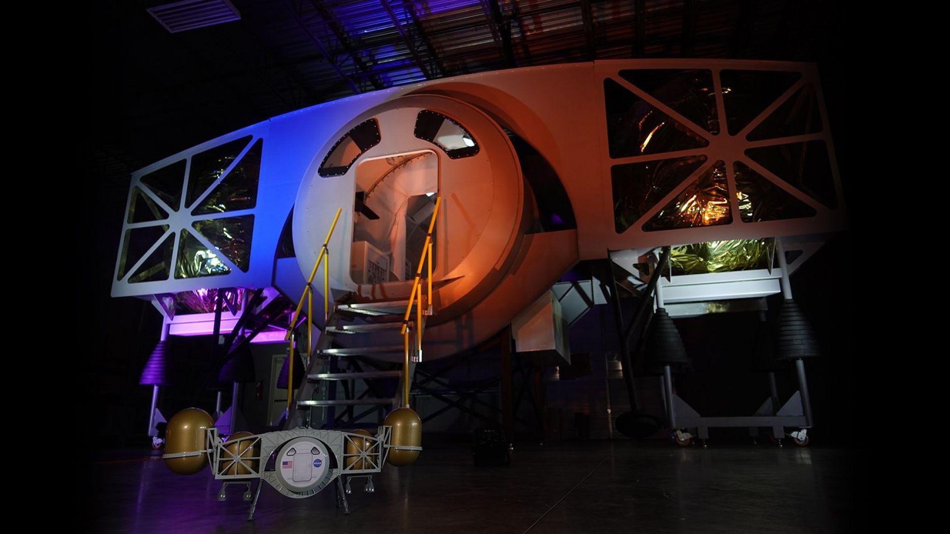 Компания от Алабама показа модул за кацане на Луната