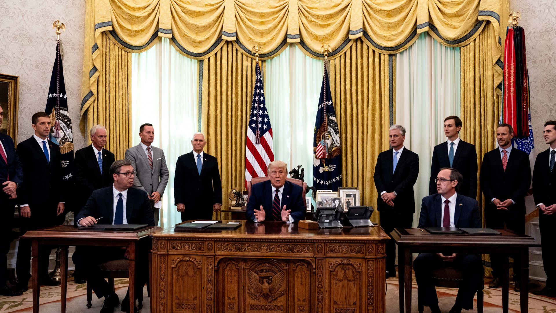 Специалният пратеник на Тръмп пристига днес в Косово