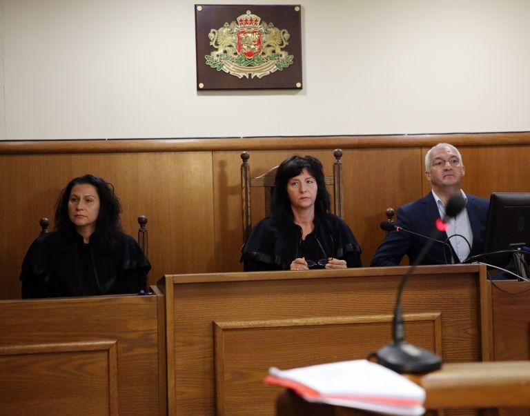 Председателят на съда Аделина Иванова и колегите й бяха единодушни за присъдата