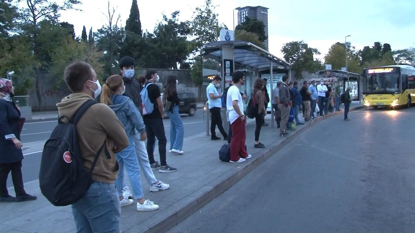 Час пик сутринта в Истанбул