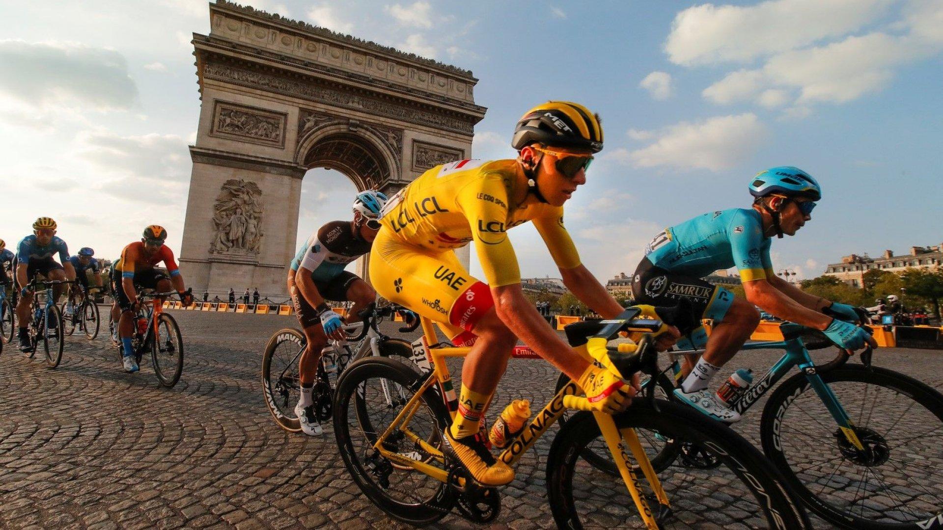 """Шампионът от """"Тур дьо Франс"""" дари жълтата фланелка за добра кауза в родината"""