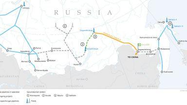 """Газопроводът """"Силата на Сибир"""" отново работи"""