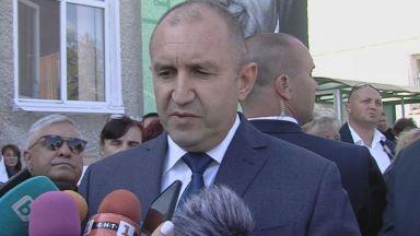 Радев за диалога с Борисов: Първо да излезе истината за записите, шкафчетата и корупционните схеми