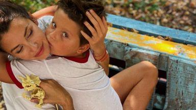 Диляна Попова и Асен Блатечки празнуваха рожден ден на сина си (снимки)