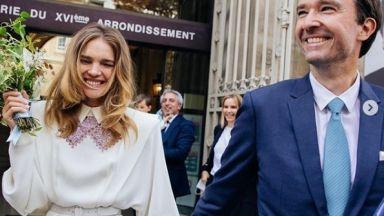 Супермоделът Наталия Водянова се омъжи за втори път