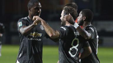 Юнайтед записа първа победа за сезона