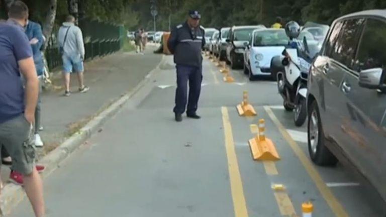 Чисто нова велоалея предизвика недоволство сред жители на столичния квартал
