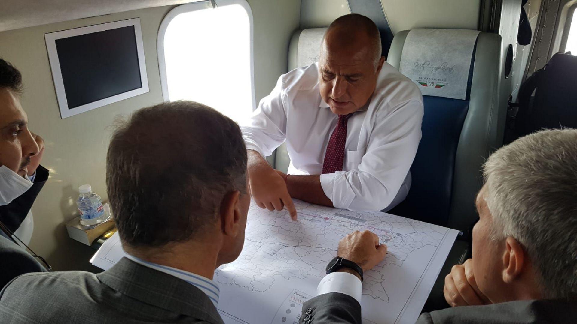 "Борисов провери трасето на ""Балкански поток"" (видео)"
