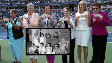 """Нарекоха ги Оригиналните 9: Как преди 50 г. женският тенис вдигна """"бунта за 1 долар"""""""