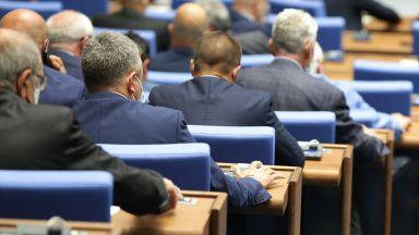 За първи път депутати под карантина се регистрираха онлайн за заседанието на НС