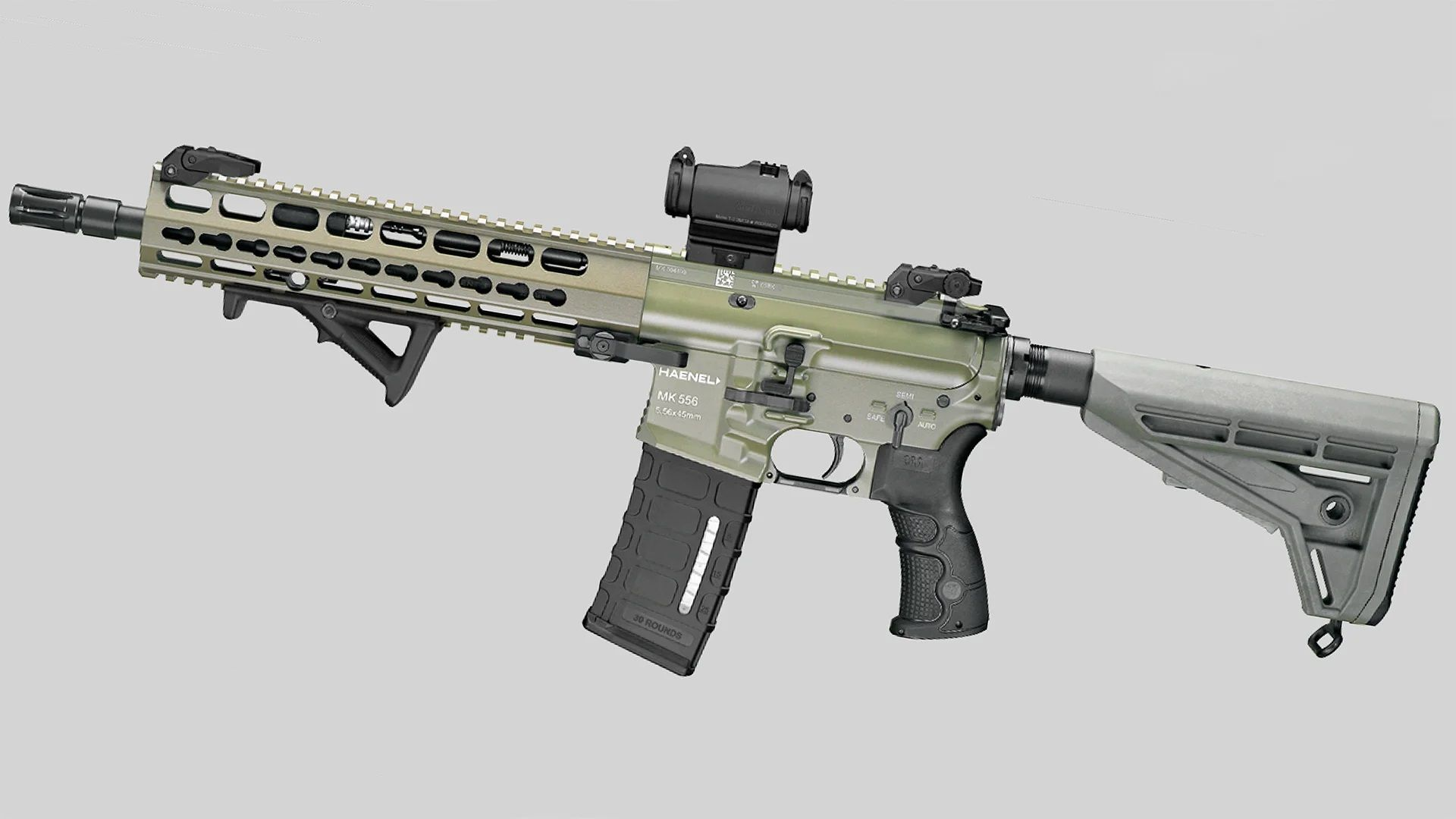 Германия се въоръжава с нова автоматична пушка