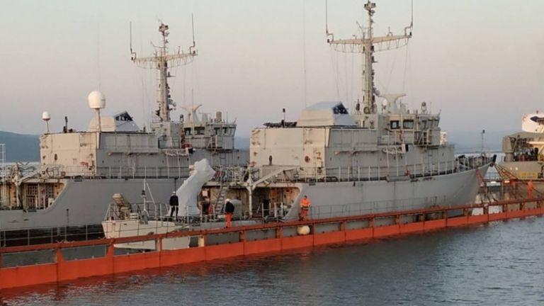 Два новопридобити минни ловци за Военноморските сили бяха снети от