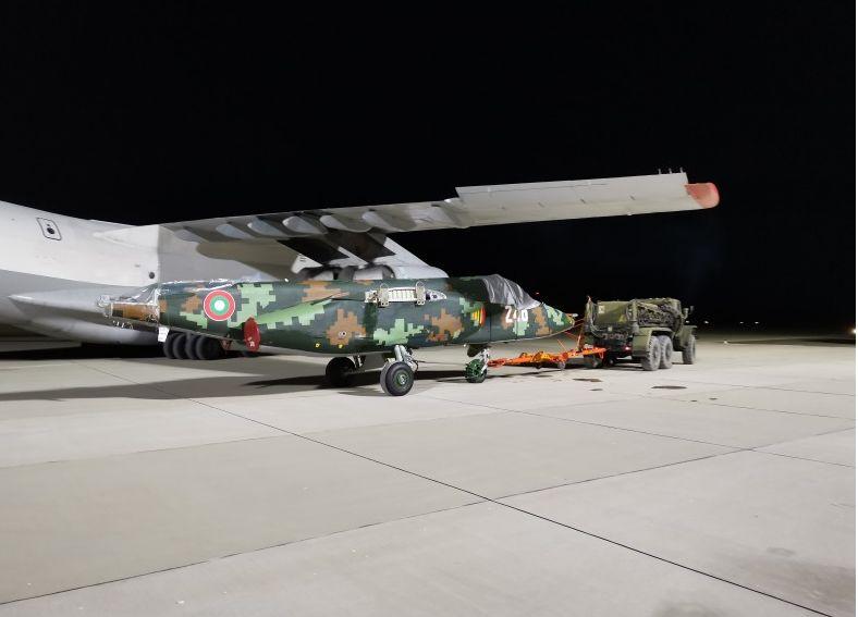 Пристигнаха първите ремонтирани СУ-25