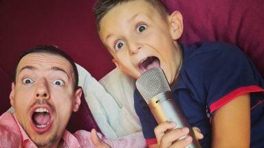 Синът на Милен Цветков започна онлайн рубрика с Даниел Петканов