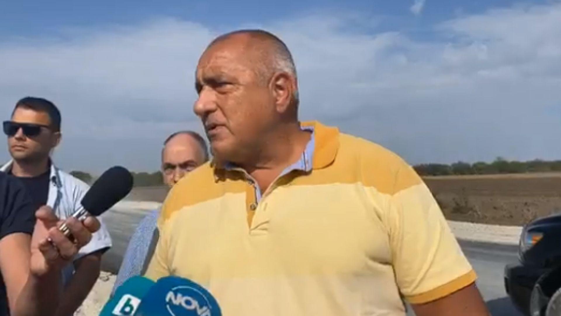 """Борисов: Експертен кабинет ме устройва, но не е отговорно, близки до Радев ме """"сготвиха"""", шапка им свалям"""
