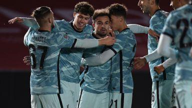 Експериментален Ливърпул вкара седем за Купата на Лигата