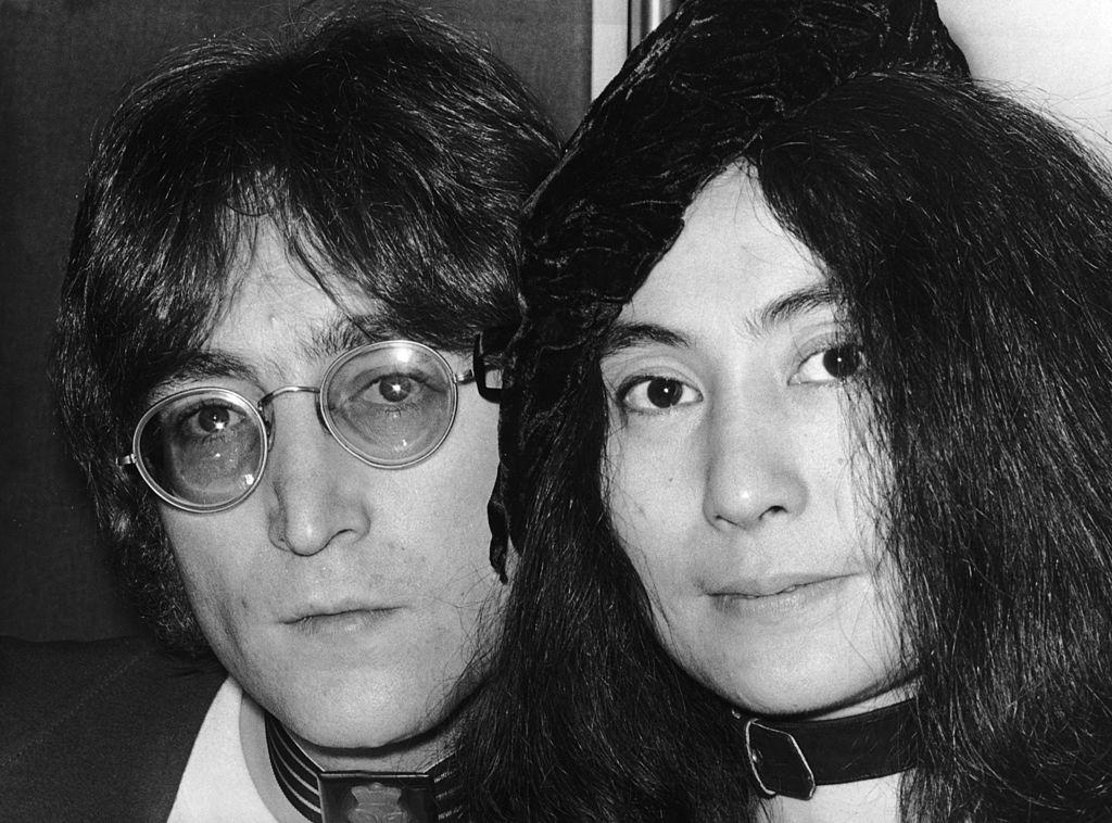 Джон Ленън и Йоко Оно
