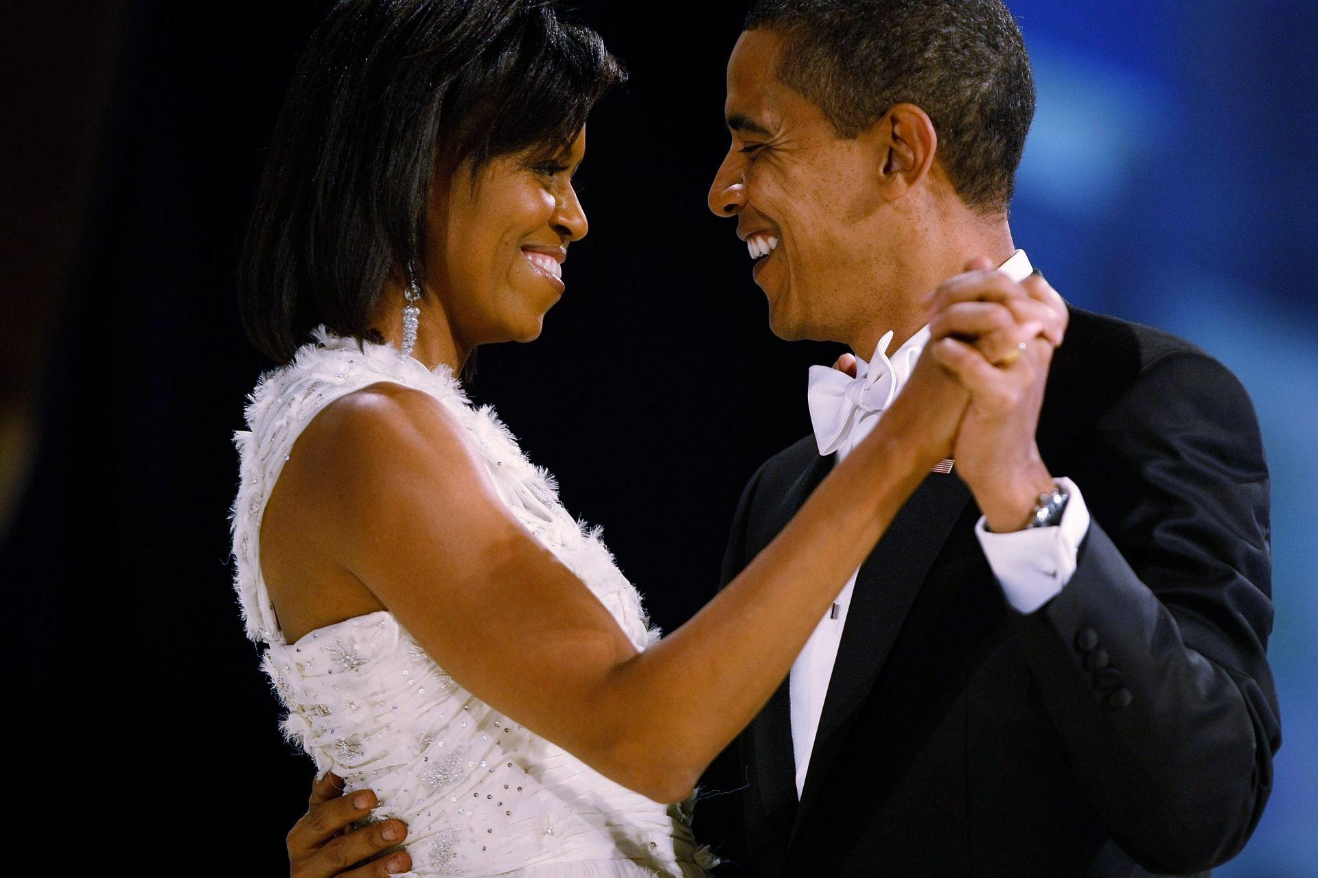 Мишел и Барак Обама