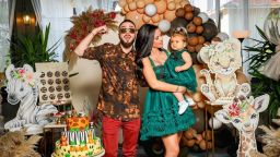 Криско и Цвети отпразнуваха първия рожден ден на Амая със сафари парти