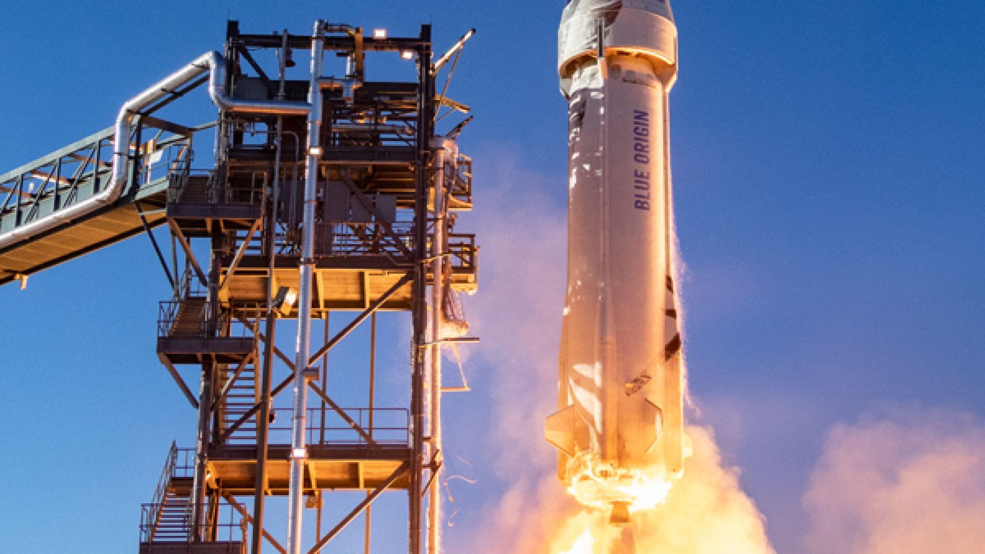Ракетата New Shepard на Blue Origin с нов важен тест