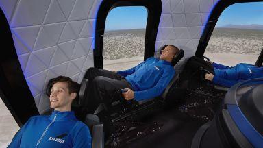 Компанията Blue Origin извърши успешно изпитание на суборбиталния си кораб