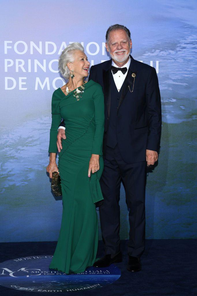Хелън Мирън със съпруга си Тейлър Хакфорд