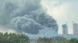 Взрив в лаборатория на Huawei в Китай (видео)
