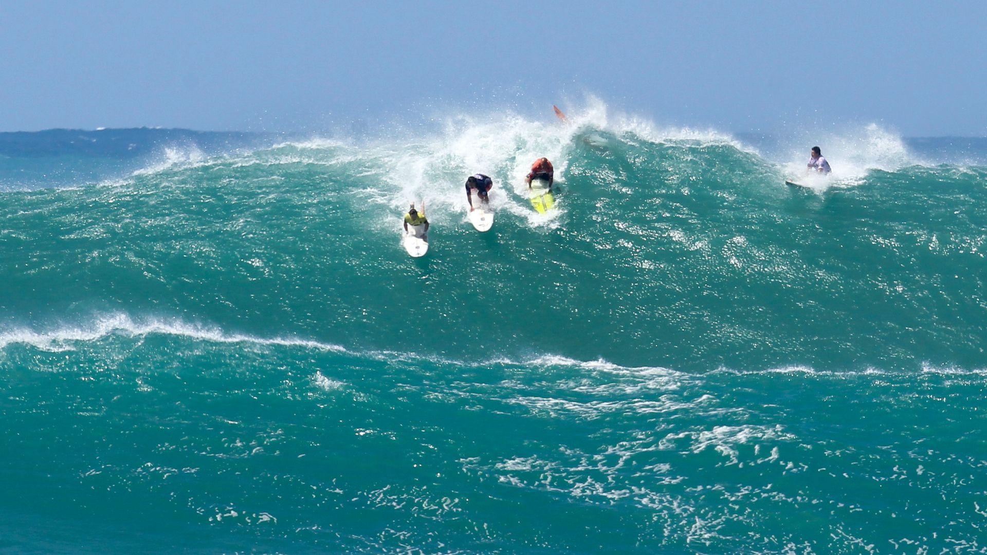 Мълния уби олимпийска надежда в сърфа