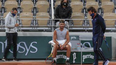 Париж приема тенис гладиаторите в най-странната обстановка