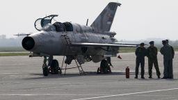 Самолет МИГ-21 се разби в Румъния, пилотът е катапултирал