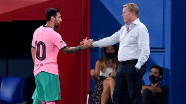 Куман остави Меси извън състава на Барселона за Шампионската лига