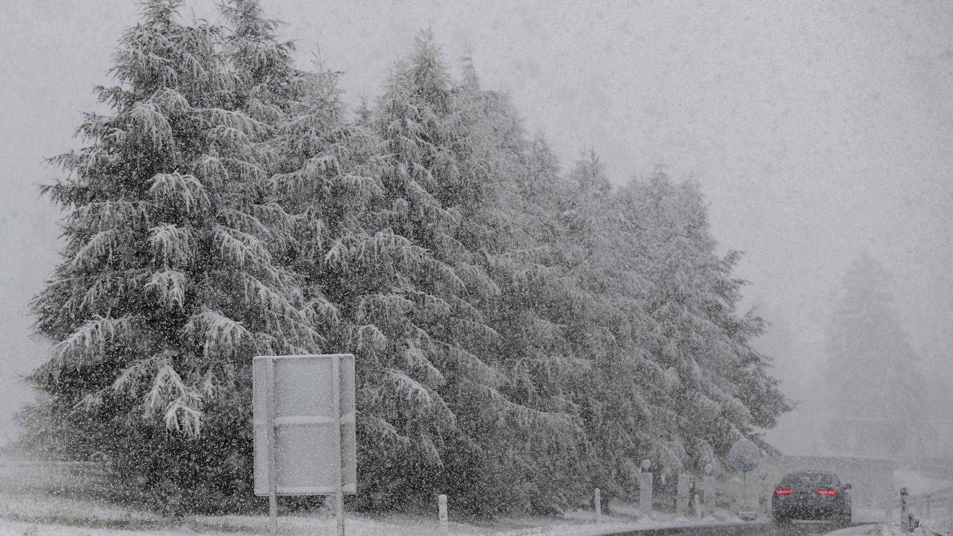 Снеговалежите в Алпите подраниха