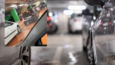 Стотици хора бяха блокирани в паркинга на столичен мол за часове (видео)