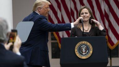 Тръмп номинира нова консервативна съдийка за Върховния съд: Ще бъде фантастична