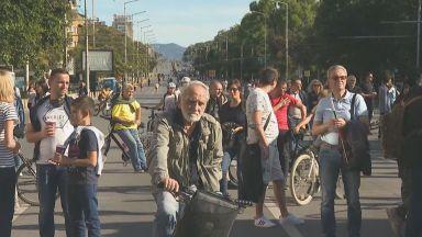 Започна протестният концерт на Орлов мост