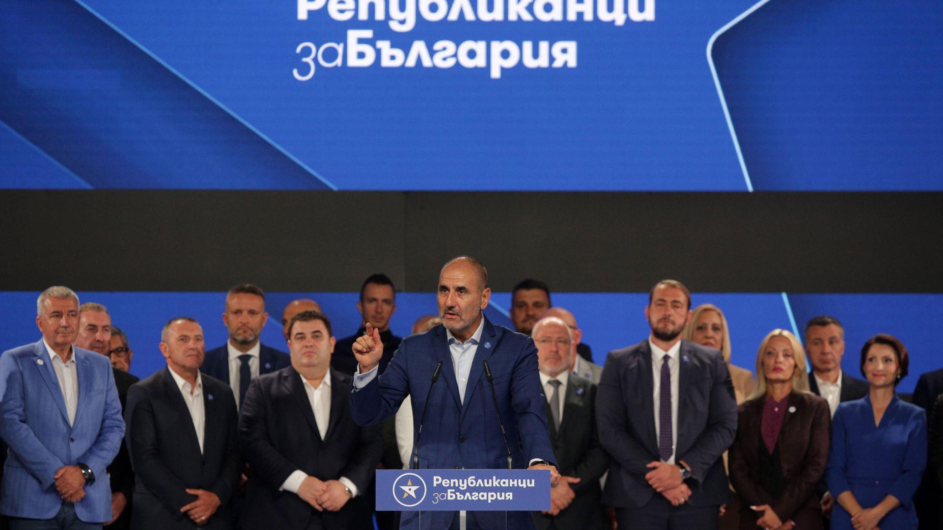 Цветанов оглави новата партия, заместник му е бизнесмен от Чикаго