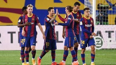 Летящ старт за Барселона на Роналд Куман