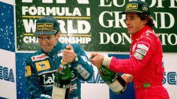 Призракът на Сена помогнал на бивш съотборник да победи Шумахер