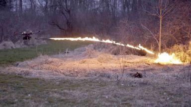 Русия се въоръжава с дронове-огнехвъргачки