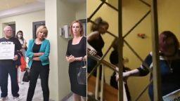Протестиращи, подкрепени от Мая Манолова, блокираха РИОСВ–Стара Загора (видео)