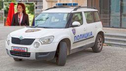 С полицейски ескорт вкараха в затвора бившия вътрешен министър на Северна Македония