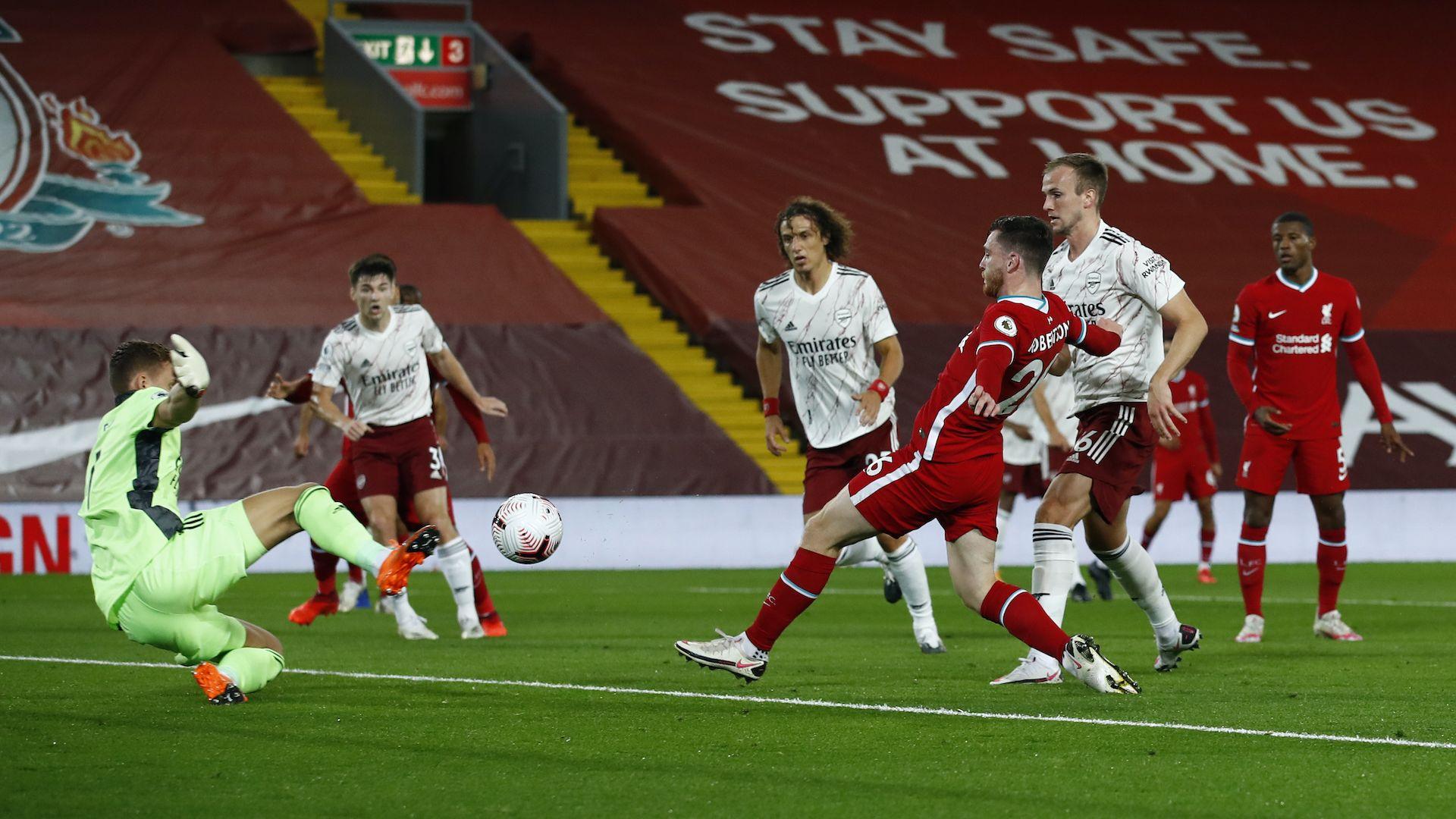 Ливърпул доминира отначало докрай срещу Арсенал за заслужен успех
