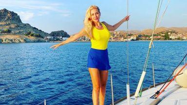 Антония Петрова с ново морско приключение в Гърция