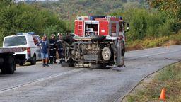 Тежка катастрофа с двама загинали край Велико Търново