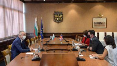 Кметът на Варна се срещна с посланика на Великобритания