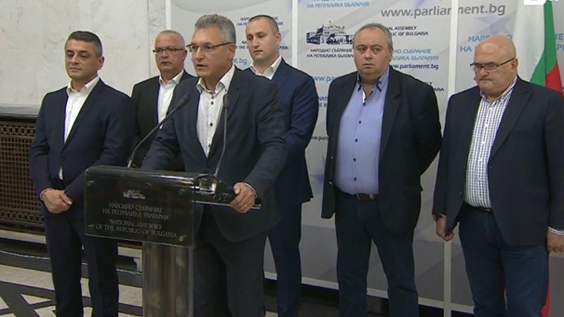 Шестима депутати опозиционери се отцепват от БСП (видео)