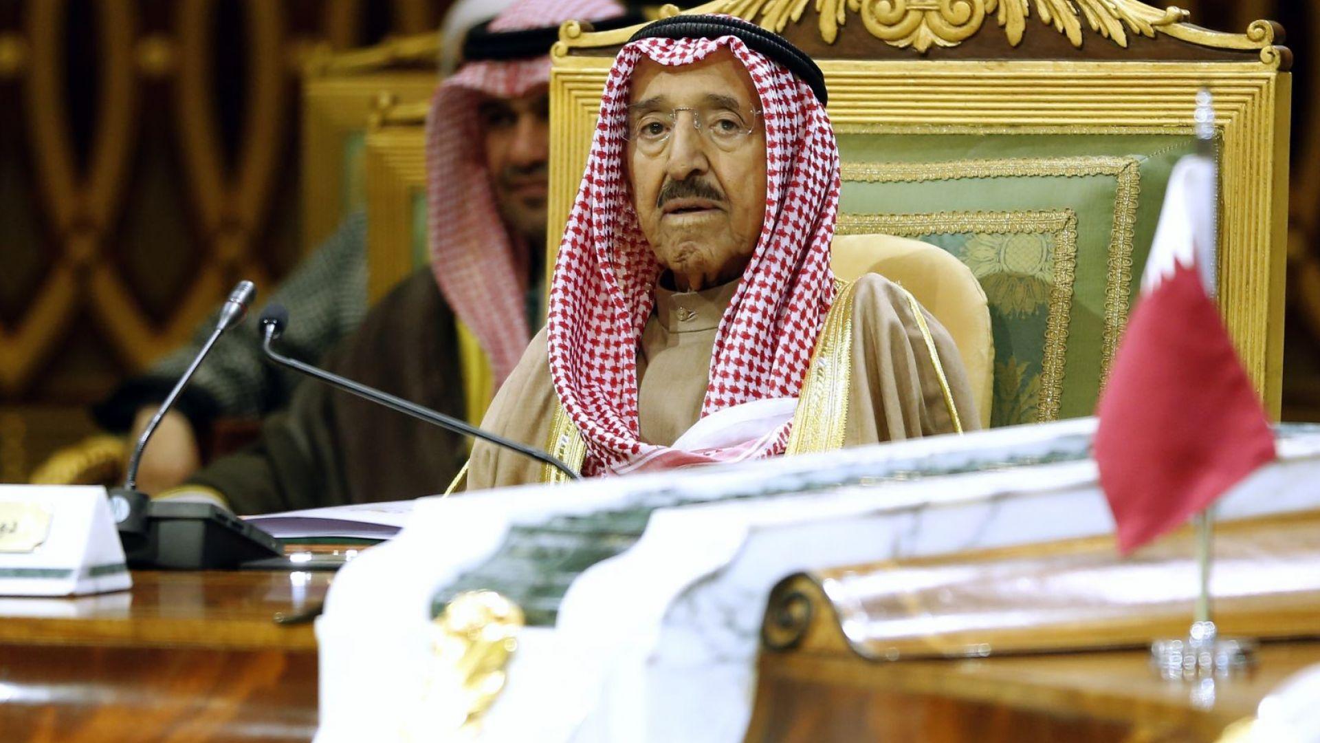 Почина емирът на Кувейт
