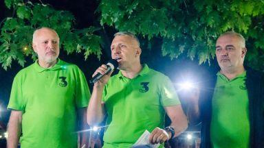 Отровното трио се споразумя  с Мая Манолова и Слави Трифонов да отстояват честни избори