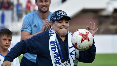 """Интервюто на Диего с Марадона: На надгробната ми плоча ще пише """"Благодаря на топката!"""""""