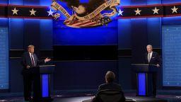 """Първи ТВ дебат между Тръмп и Бъйдън: От """"пудела на Путин"""" до """"суперхищник"""" (видео)"""